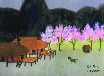 vietnamese silk paintings and products introduced in the us