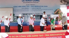 construction of vietnams first creative park starts in binh dinh