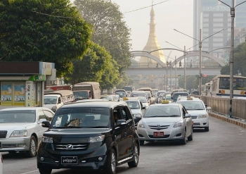 japans carmaker holds over half of myanmar market