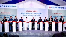 roks polyester tyre cord fabrics plant inaugurated in binh duong