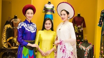 designer longs to blend traditional vietnamese weaving with ao dai designs