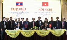 vietnam laos cooperate to develop border trade