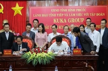 chinese furniture maker invests 50 million usd in binh phuoc