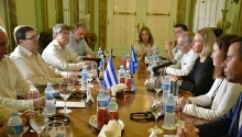 eu says to support cubas economic modernization strengthen ties with havana