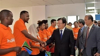vietnam tanzania relations further consolidated diplomat