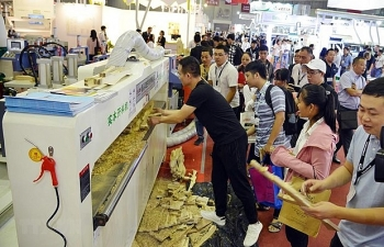 intl exhibitions on woodworking industry open in hcm city