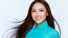 hoang thu thao competes at miss global beauty queen