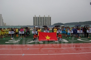 football tournament in rok raises fund for poor students