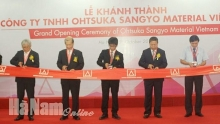 ha nam japans second project in dong van 3 iz commences operations