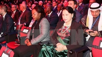 na chairwoman attends ipu 137 opening in russia
