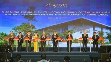 da nang inaugurates international convention center in service of apec