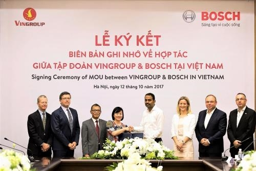 bosch becomes vinfasts supplier of automotive parts