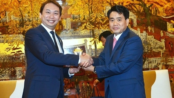 singapore hanoi seek collaboration in digital technology