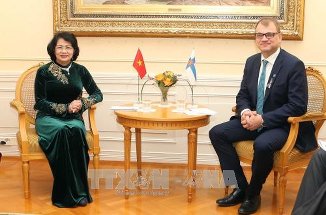 vietnam asks finland to actively support vietnam eu ties