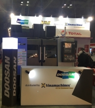 vinamachines presenting new technologies at metalex vietnam 2017