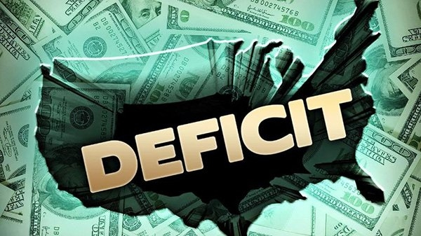 us deficit grows 136 percent in 2017 now 35 percent of gdp