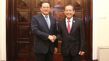 vietnamese lao deputy pms hold talks
