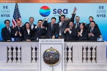 shopees parent company sea becomes listed on nyse