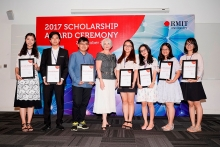 rmit vietnam awards more than 33 billion vnd in scholarships in 2017