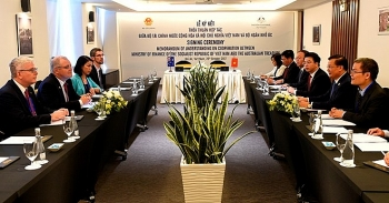 vietnam australia sign mou on financial cooperation
