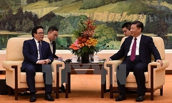 chinese party chief receives vietnamese party leaders special envoy