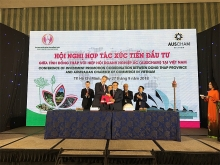 mekong delta localities pitch for australian investment