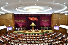 party central committees 8th session opens