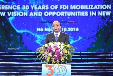 fdi attraction the correct policy for national development pm phuc