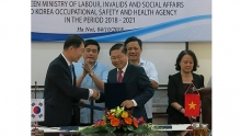 vietnam rok enhance cooperation in labor safety