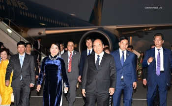 prime minister leaves for 10th mekong japan summit