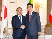 pm nguyen xuan phuc attends 10th mekong japan summit