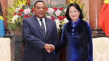 tanzania a prioritised african partner of vietnam acting president