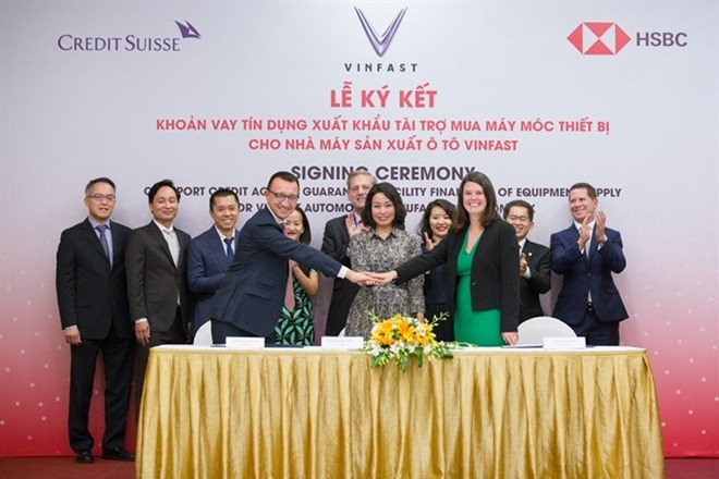 vinfast signs us 950 million agreement for machinery