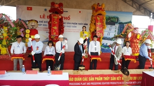 work starts on us 8 million seafood processing plant in binh dinh