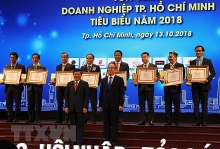 hcm city honors outstanding enterprises businessmen
