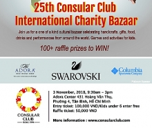 hcmc international charity bazaar celebrates silver jubilee