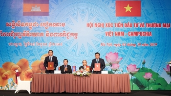 vietnam cambodia trade and investment promotion conference held