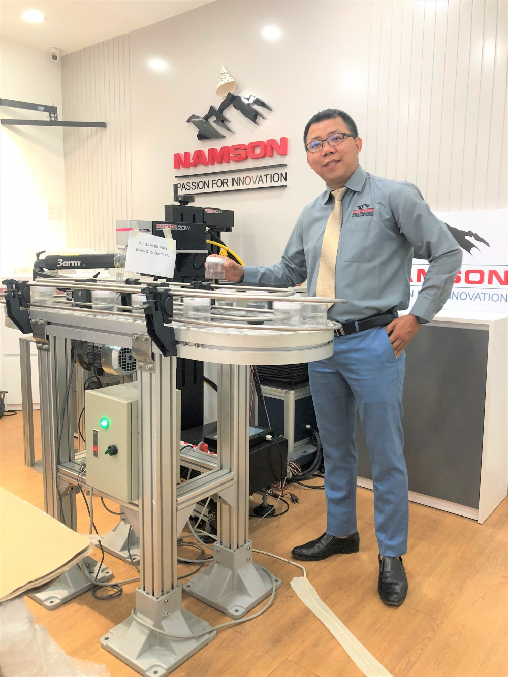 namson laser delivers cutting edge technology to vietnam