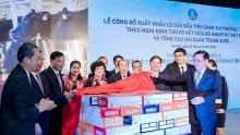 first batch of vietnamese milk exported to china
