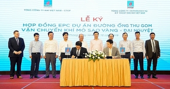 pv gas signed contracts under the adjusted nam con son 2 gas pipeline project