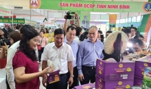 ninh binh ocop products introduced to hanoi consumers