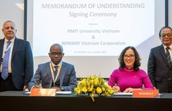 winway travel corporation rmit vietnam sign strategic cooperation in education and training