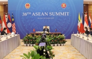 pm attends five conferences on first day of 38th 39th asean summits and related summits