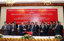 vietnam lao sign iron ore mining contract