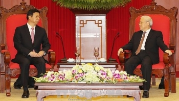 party chief receives chinese leaders special envoy