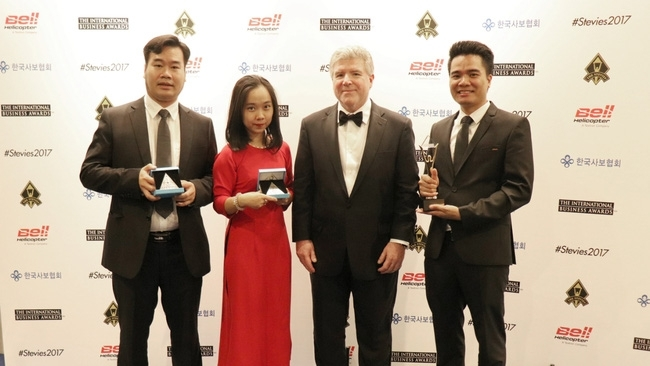 viettel wins big at international business awards