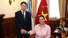 vietnam important trade partner of argentina vice president