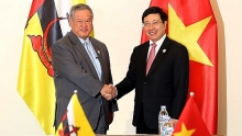vietnam brunei agree to foster close ties at multilateral forums