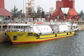 dung quat shipyards first gas carrier launched