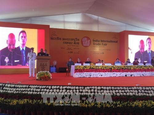 vietnam attends india international trade fair